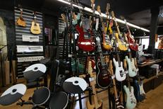 Auday Musique Nîmes est un magasin d'instruments de musique en centre-ville (® networld-fabrice chort)