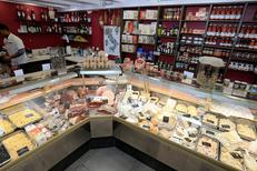 Epicerie italienne Nîmes dans l'atelier-boutique Aux Pâtes Fraîches en centre-ville de Nîmes ( ® SAAM-fabrice Chort)