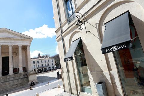 Faubourg Prohin Nîmes Boutique de vêtements homme luxe en centre-ville (® SAAM-fabrice Chort)
