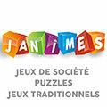Janîmes Nîmes dédié aux jeux de société, puzzles et jeux traditionnels en centre-ville