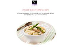 Vatel Gourmet Nîmes propose sa carte de Printemps 2019