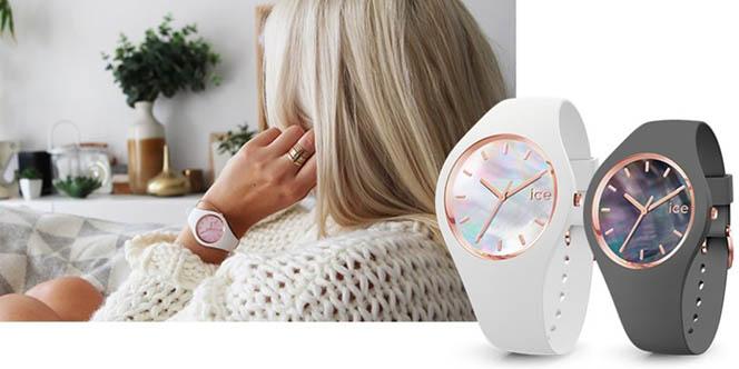 La boutique Ice Watch Nîmes présente la nouvelle collection de montres Ice Pearl à découvrir en centre-ville.(® site Ice Watch)