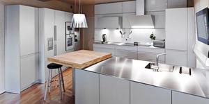 Domus Cuisine Nîmes Cuisiniste haut de gamme propose un nouvel agencement de sa boutique en centre-ville.(® domus cuisine)