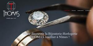 La bijouterie-horlogerie THOMAS à Nîmes se digitalise. Découvrez le site internet de Thomas Joaillier.