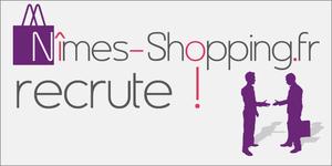 Offre d'emploi Nîmes : recherche Commercial Web pour développer le guide Nimes-Shopping.fr.