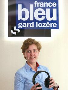 Fabienne Bureau Directrice de France Bleu Gard Lozère