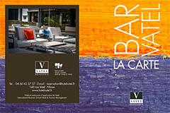 Brasserie Vatel Nîmes | Carte du Bar